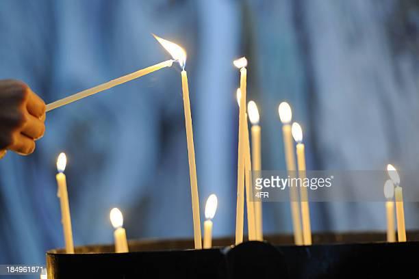 In Erinnerungen-fällt eine Kerze (XXXL