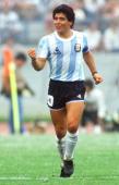WM 1986 in MEXICO Mexico City ARGENTINIEN BULGARIEN 20 Diego MARADONA /ARG