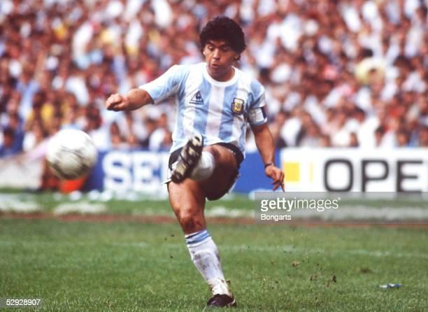 WM 1986 in MEXIKO Mexiko City ARGENTINIEN BELGIEN 20 Diego MARADONA/ARG
