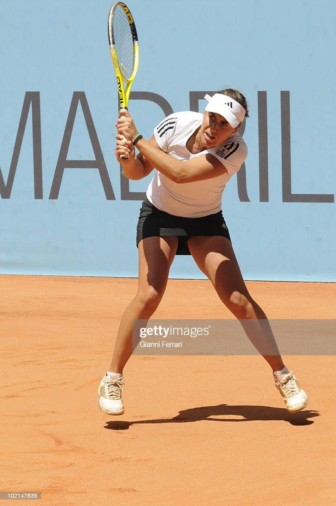 in 'Mutua Madrilena Madrid Open' of tennis, 8th May 2010, in 'La Caja Magica'. Madrid, Spain.