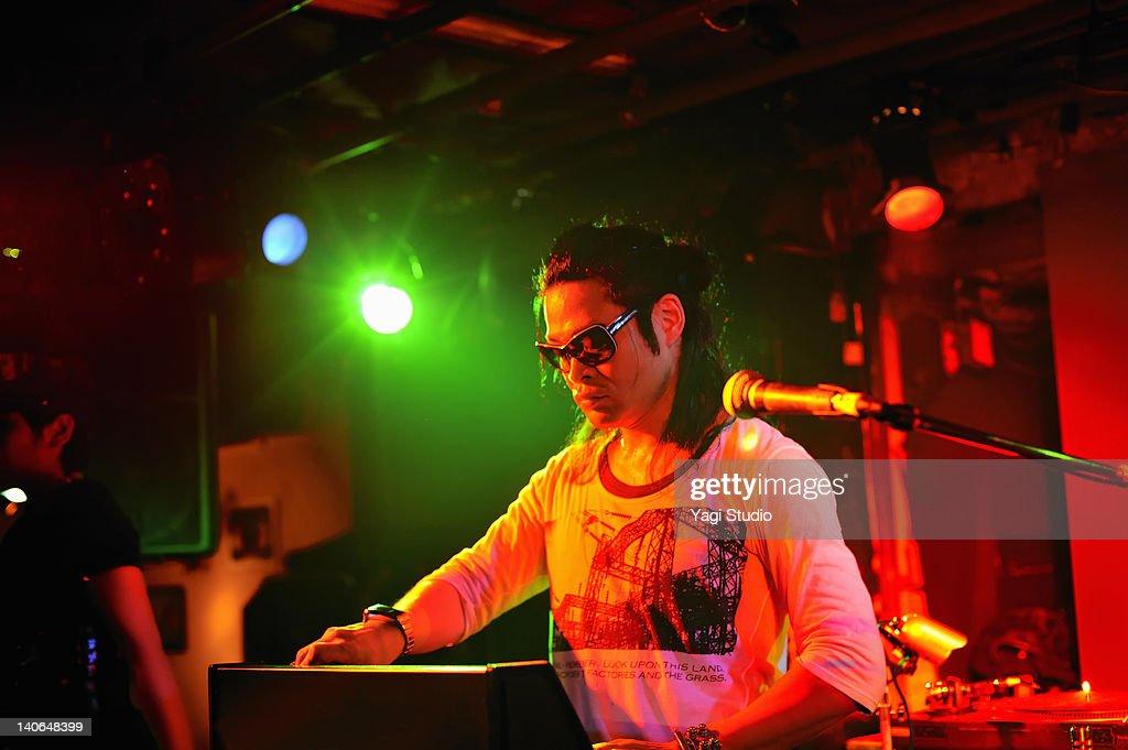 DJ in nightclub ,Japan : Stock Photo