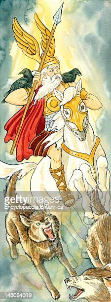In Norse Mythology Odin Was The Ruler Of Heaven And Earth The God Of Warriors And Poets As Well As A Skilled Magician