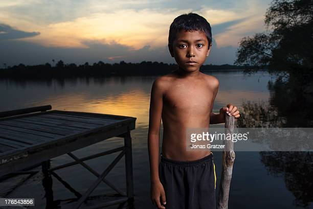 In other parts of Sumatra the river is not so great for fishing as the ecosystem is not as well maintained and the fish stock is negative A village...