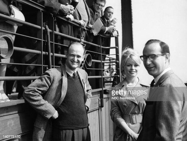TODAY 'TODAY in Paris 1959' Pictured French actress Brigitte Bardot at the Eiffel Tower in Paris France from April 27 May 1 1959 Photo by NBC/NBC...
