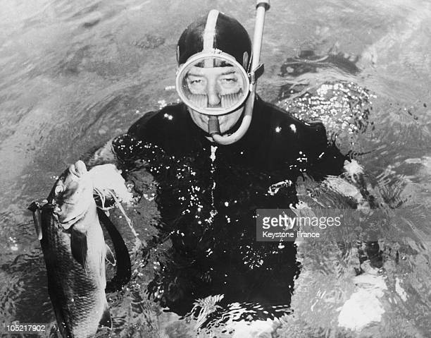 In Portsea Harold Holt In Diving Suit