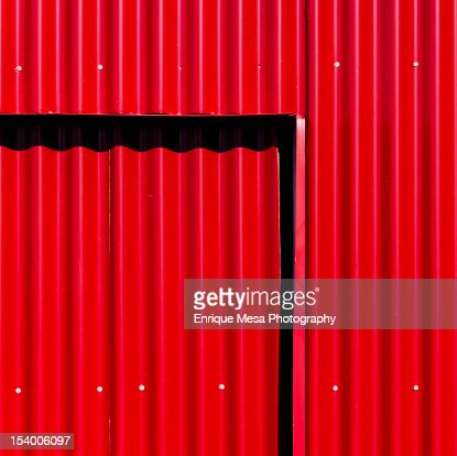 In red : Stock Photo