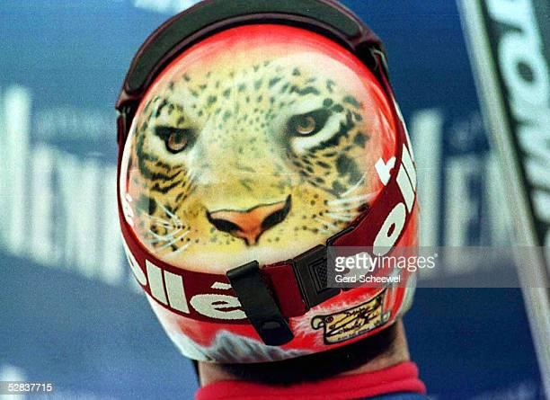 WM 1997 in Sestriere Helm von Luc Alphand/FRA