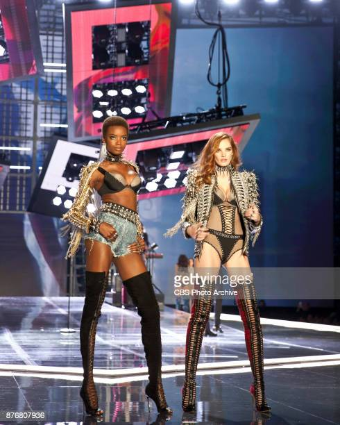 'THE VICTORIA'S SECRET FASHION SHOW' in Shanghai China for the first time at the MercedesBenz Arena Broadcasting TUESDAY NOV 28 ON CBS Pictured left...