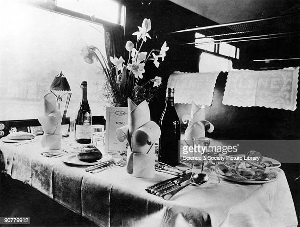 In the 1930s passengers on the �Flying Scotsman� had over seven hours to enjoy the succession of meals and snacks on offer in the restaurant cars...