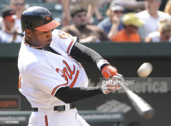In the 8th inning Orioles center fielder Adam Jones flies out to Indians center fielder Ezequiel Carrera The Baltimore Orioles defeated the Cleveland...