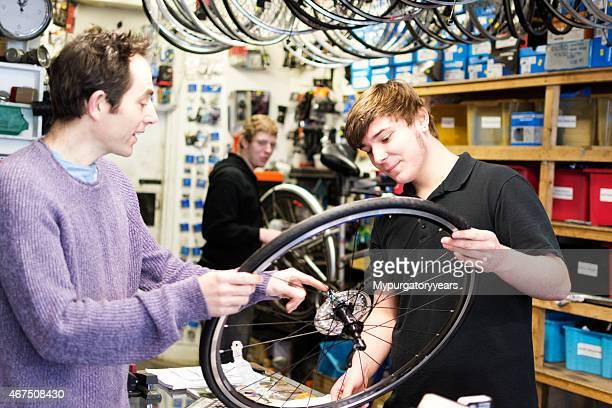 Nel Negozio di biciclette
