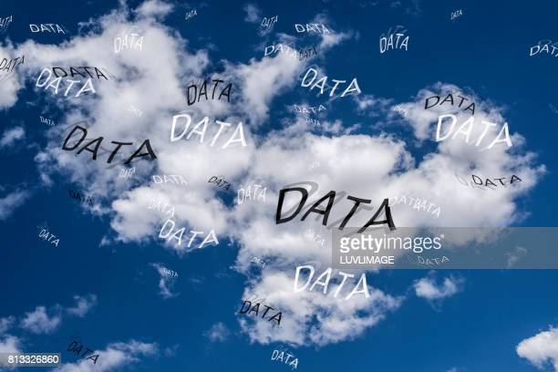 DATA in the cloud.