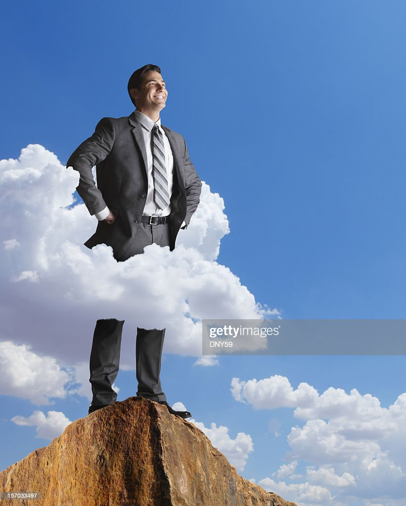 In The Clouds : Stock Photo