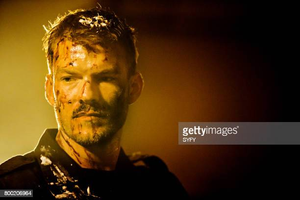 DRIVE 'In the Crimson Halls of Kane Hill' Episode 104 Pictured Alan Ritchson as Arthur