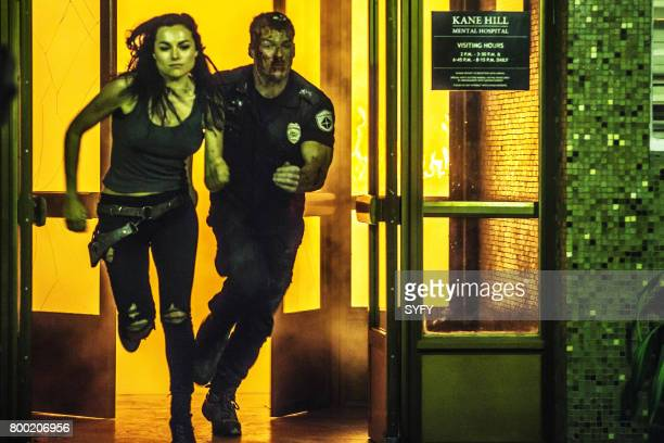 DRIVE 'In the Crimson Halls of Kane Hill' Episode 104 Pictured Christina Ochoa as Grace Alan Ritchson as Arthur