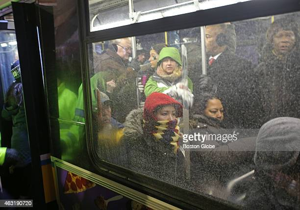 In the early morning commute at Quincy Adams passengers squeezed together on the bus to the JFK stop The MBTA rails had commuters traveling into...
