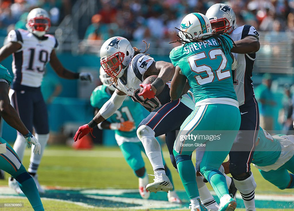 New England Patriots Vs. Miami Dolphins At Sun Life Stadium ...