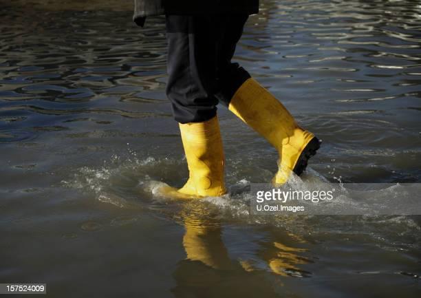 Inondation de l'eau
