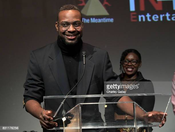 In The Meantime's Greg Wilson attends AIDS Healthcare Foundation iNHale Entertainment Partner To Host 'INside | OUTside Celebrating Our Storytellers...