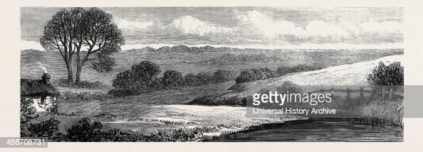 Near Ashbourne Where The Ward Union Hounds Are Kept Ireland 1879