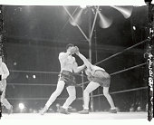 In the most amazing finish of a heavyweight championship fight in the history of the ring Joe Louis heavyweight champion retained his title by...