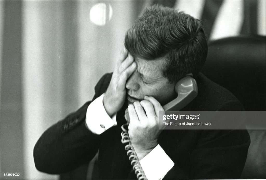 Being the personal photographer to the President meant you saw everything. This is the exact moment that Kennedy learned that Congolese Prime Minister Lumamba had been assassinated. Kennedy had high hopes for the leader as an ally in Africa and the call from Adlai Stevenson left him heartbroken.
