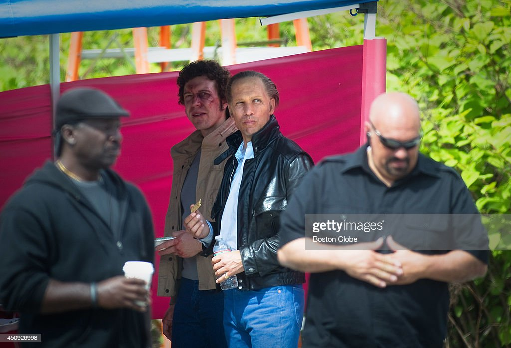 5/19/2014 In the role of Whitey Bulger Johnny Depp's film double for the movie 'Black Mass' began shooting around Water Street in Dorchester on...