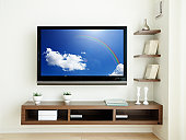 LCD TV in the room.