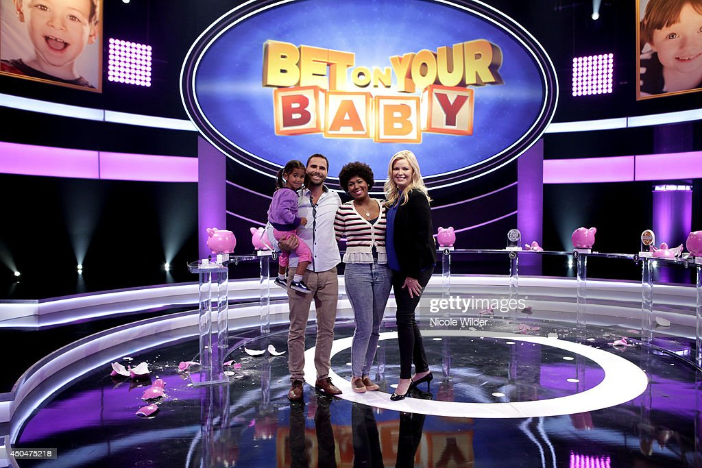 BABY - In the second season premiere, '201,' we meet 3-year old Nyla and her parents Calee and Arthur King who hope she'll pick up the phone within 6 rings to win $5,000 in the game 'Pickup Line.' The Hahn Triplets-Jacob, Tyler and Audrey--play 'TP Takeoff.' Can they empty 3 rolls of toilet paper within 90 seconds? Four-year-old Rozlynn loves playing 'Dress Up' with her mom Wanda Cohill while Grandma Tajee wagers on which costume her granddaughter will select. And 4-year-old A.J. Rodriguez plays 'Peanut Putter,' a mini-golf game, with his dad Lupe, while mom Angela guesses how many holes in one he'll land in the oversized cup. All the parents return for a high-stakes game of 'Baby Talk,' in which they guess the mystery word Melissa and their children are describing. One lucky family moves on to try to break the piggy bank and win a $50,000 college fund, when 'Bet on Your Baby' premieres SATURDAY, MAY 31 (8:00-9:00 p.m., ET) on the ABC Television Network.