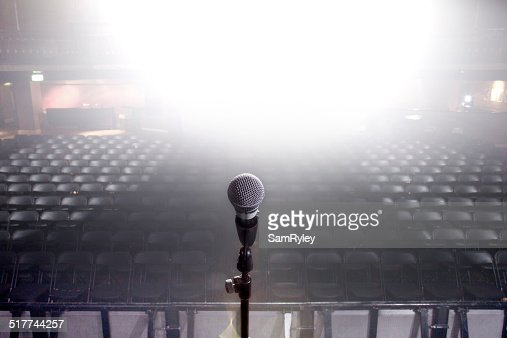 In the spotlight : Stock Photo