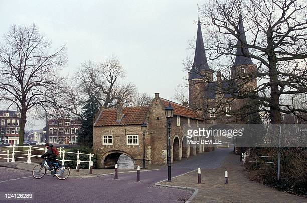 In the steps of Johannes Vermeer In Delft Netherlands In February 1996 East gate