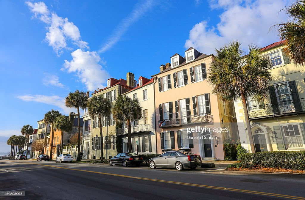 In the streets of Charleston : Stock Photo