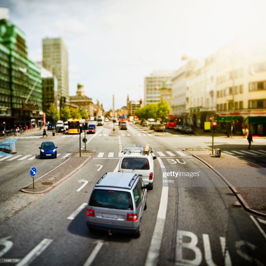 In the Streets of Copenhagen : Stock Photo