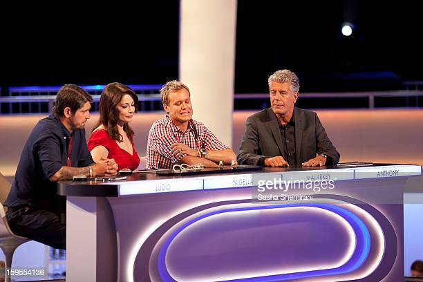 THE TASTE In the twohour series premiere 'Auditions Part 1' the pressure is on when Anthony Bourdain Nigella Lawson Ludovic Lefebvre and Brian...