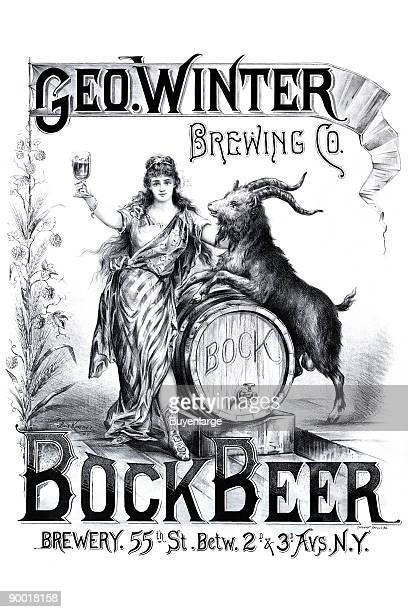 In the years before National Prohibition the George Winter brewery operated on 55th street between 2nd and 3rd avenues New York City This beautiful...
