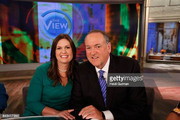 THE VIEW In their first joint interview since the 2016 presidential election Sarah Huckabee Sanders and her father former Arkansas governor Mike...