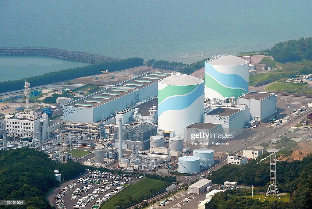 In this aerial image Kyushu Electric Power Co's Sendai Nuclear Power Plant is seen on September 10 2014 in Satsumasendai Kagoshima Japan The Nuclear...
