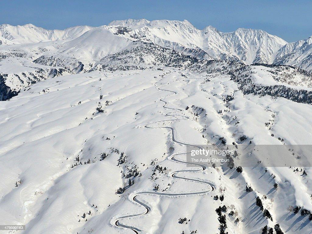 Image result for Tateyama Kurobe Alpine Route