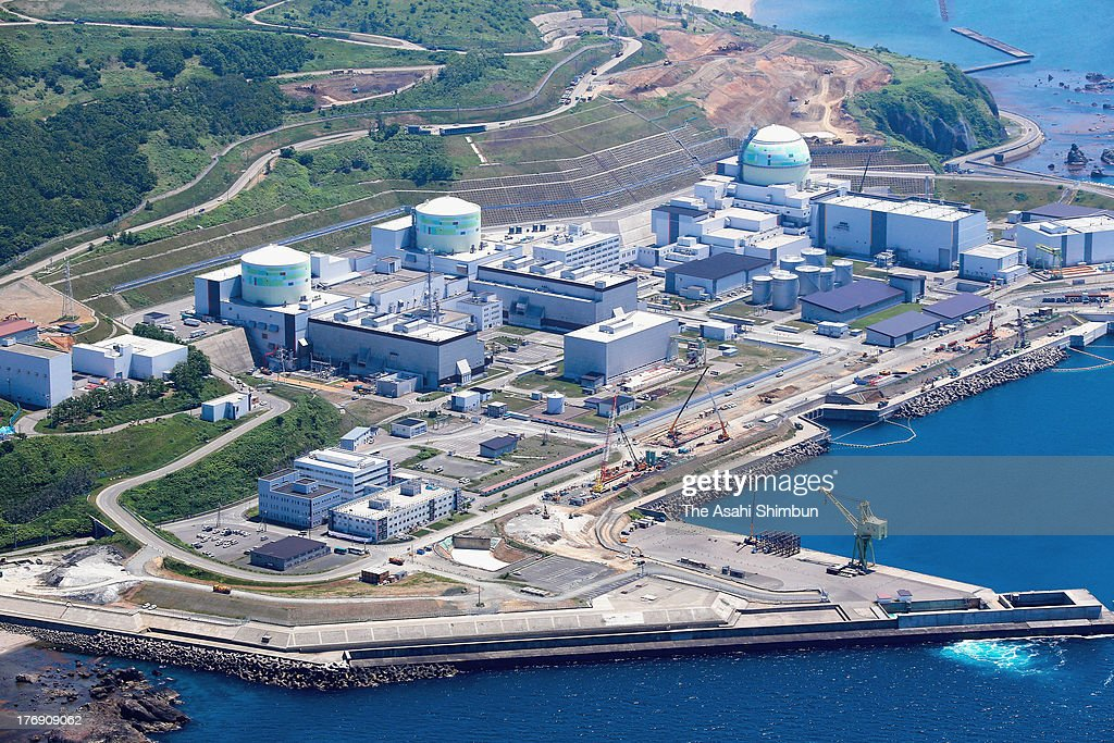 In this aerial image, three reactors (No.1, No.2, No.3 from left respectively) of the Tomari Nuclear Power Plant are seen on August 12, 2013 in Tomari, Hokkaido, Japan. The Nuclear Regulation Authority said on July 23 that two reactors at Hokkaido Electric Power Co.'s Tomari Nuclear Power Plant were 'clearly ill-prepared' to re-start its operation for the first time since the crisis at the Fukushima No. 1 Nuclear Power Plant.