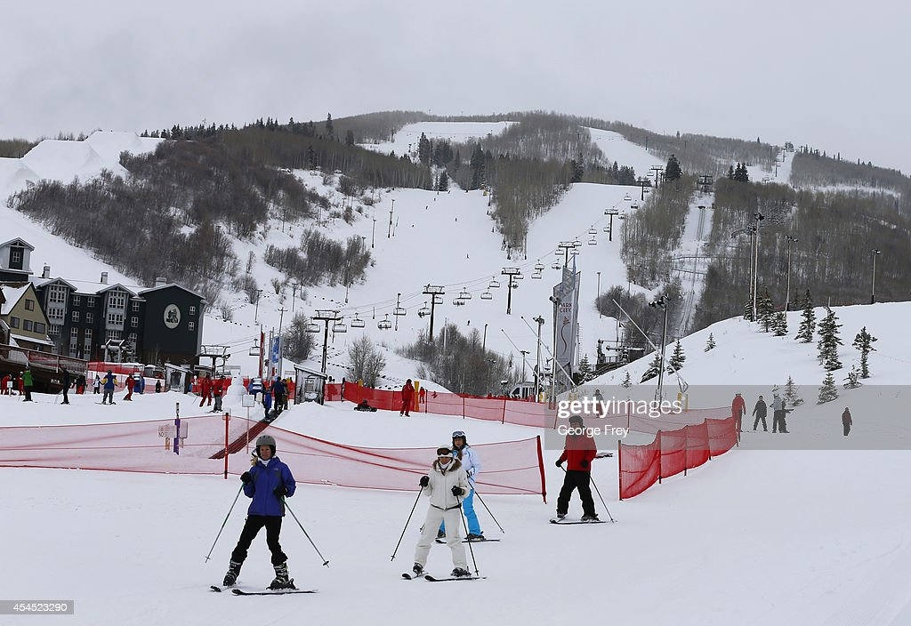 In this file photo of skiers at the Park City Mountain Resort on January 30 2014 in Park City Utah The Park City ski resort is locked in a real...