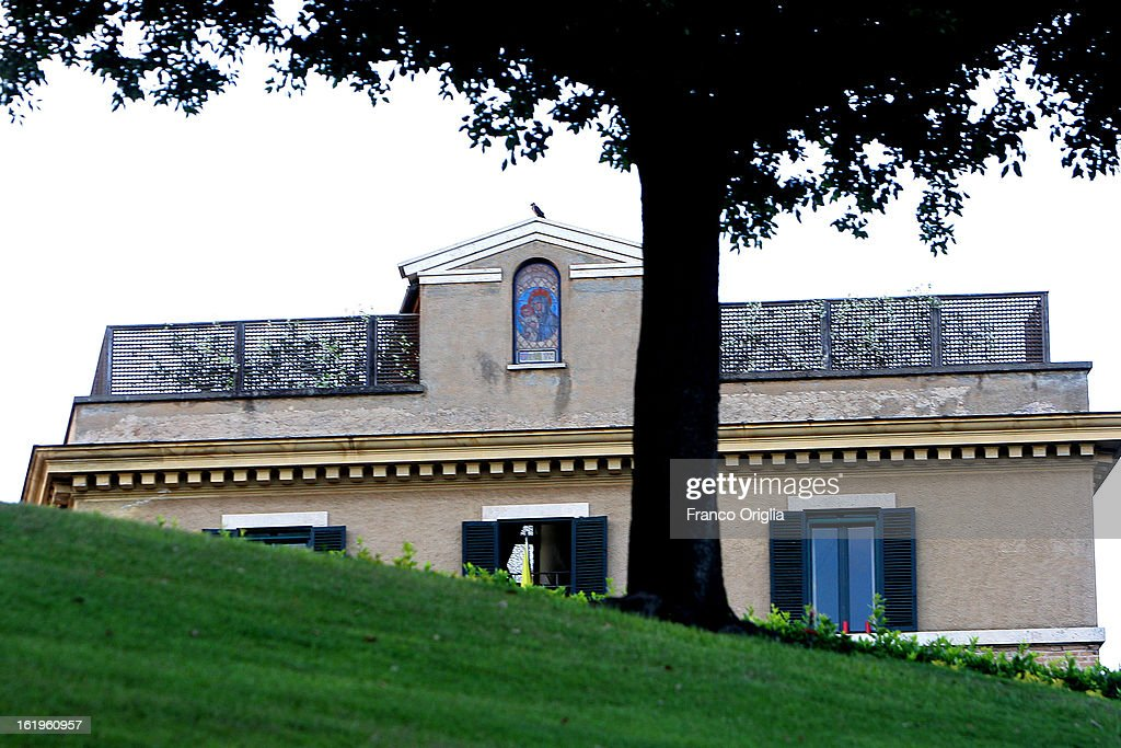 In this file picture taken on May 30, 2009 a view of the convent of Mater Ecclesiae, the new residence of Pope Benedict XVI after his retirement , in Vatican City, Vatican.