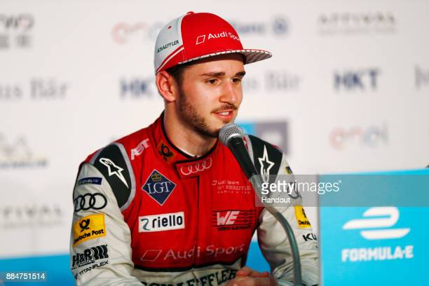 In this handout from FIA Formula E 2017/2018 FIA Formula E Championship Round 2 Hong Kong China Sunday 03 December 2017Daniel Abt Audi Sport ABT...
