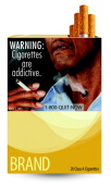 In this handout from the Food and Drug Administration a new FDA warning label for a cigarette packs is seen The FDA released nine new warning labels...