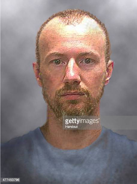 In this handout from the New York State Police a progression image of escaped inmate David Sweat is seen Sweat and fellow inmate Richard Matt escaped...