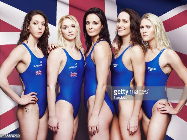In this handout image from British Gas made available May 3 2012 shows Amy Smith Caitlin McClatchey Kerianne Payne Georgia Davies and Jemma Lowe of...