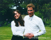 In this Handout Image provided by Clarence House wwwofficialroyalwedding2011org Kate Middleton and Prince William on the day of their graduation...