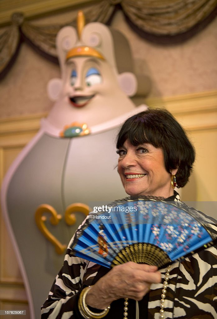In this handout image provided by Disney Parks, legendary actress and comedienne Jo Anne Worley, who provided the voice of the fashion-minded 'Wardrobe' character in Disney's animated classic 'Beauty and the Beast,' poses in front of a statue of The Wardrobe at the Magic Kingdom theme park December 6, 2012 in Lake Buena Vista, Florida. Worley was one of the celebrities on hand to celebrate today's Grand Opening of 'New Fantasyland' at Walt Disney World Resort. New Fantasyland is a new area in the Magic Kingdom and is the largest expansion in the 41-year history of the theme park.