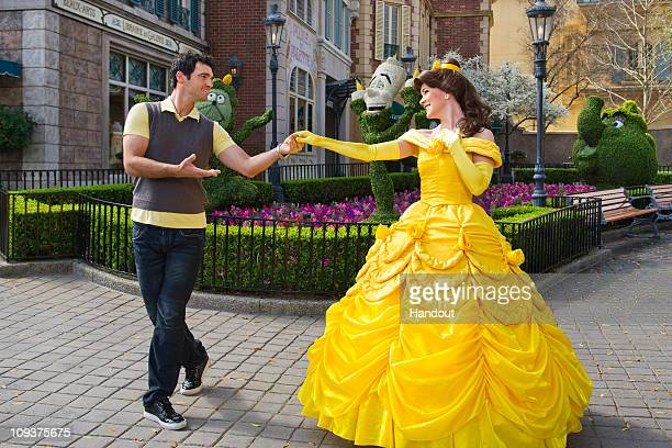 In this handout image provided by Disney Tony Dovolani one of the professional dancers starring on the ABCTV series 'Dancing with the Stars' joins...