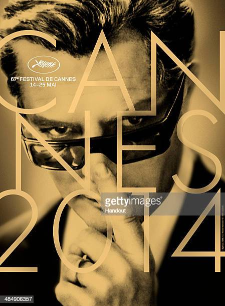 In this handout image provided by Festival de Cannes The 2014 official Festival de Cannes poster is presented Designed by Herve Chigioni and graphic...
