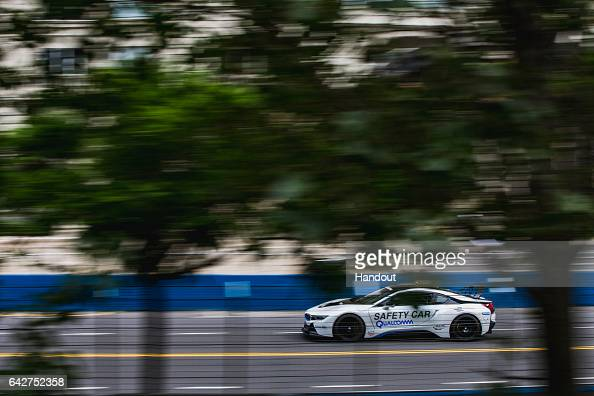In this handout image provided by Formula E The Safety Car during the FIA Formula E Championship Buenos Aires ePrix on February 18 2016 in Buenos...